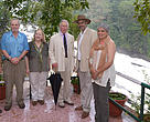 HRH in Kerala with the Chief Wildlife Warden, Mr Gopinathan (extreme left), Dr. Sejal Worah, Programme Director, WWF-India (extreme right) and other conservationists.
