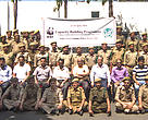 The frontline staff of J&K Forest Department with the trainers on Day 1 of the capacity building programme.