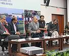 Mr Tarun Kapoor, JS, MNRE speaking at the event