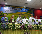 The 'Terai Road report' being released at the launch of Wildlife Week, Lucknow