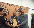 WWF-India PATA Bag Mitra award to Sonali Ghosh for her exemplary work towards curbing poaching in Manas Tiger Reserve.